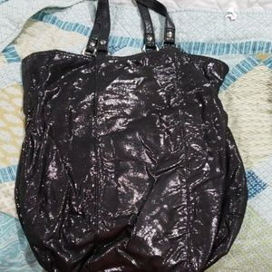 Large hobo shimmer bag